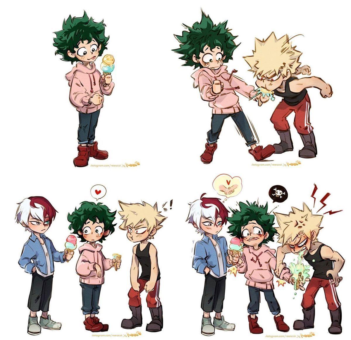 This Is Cute But A Little Gross Lol My Hero Hero My Hero Academia Manga