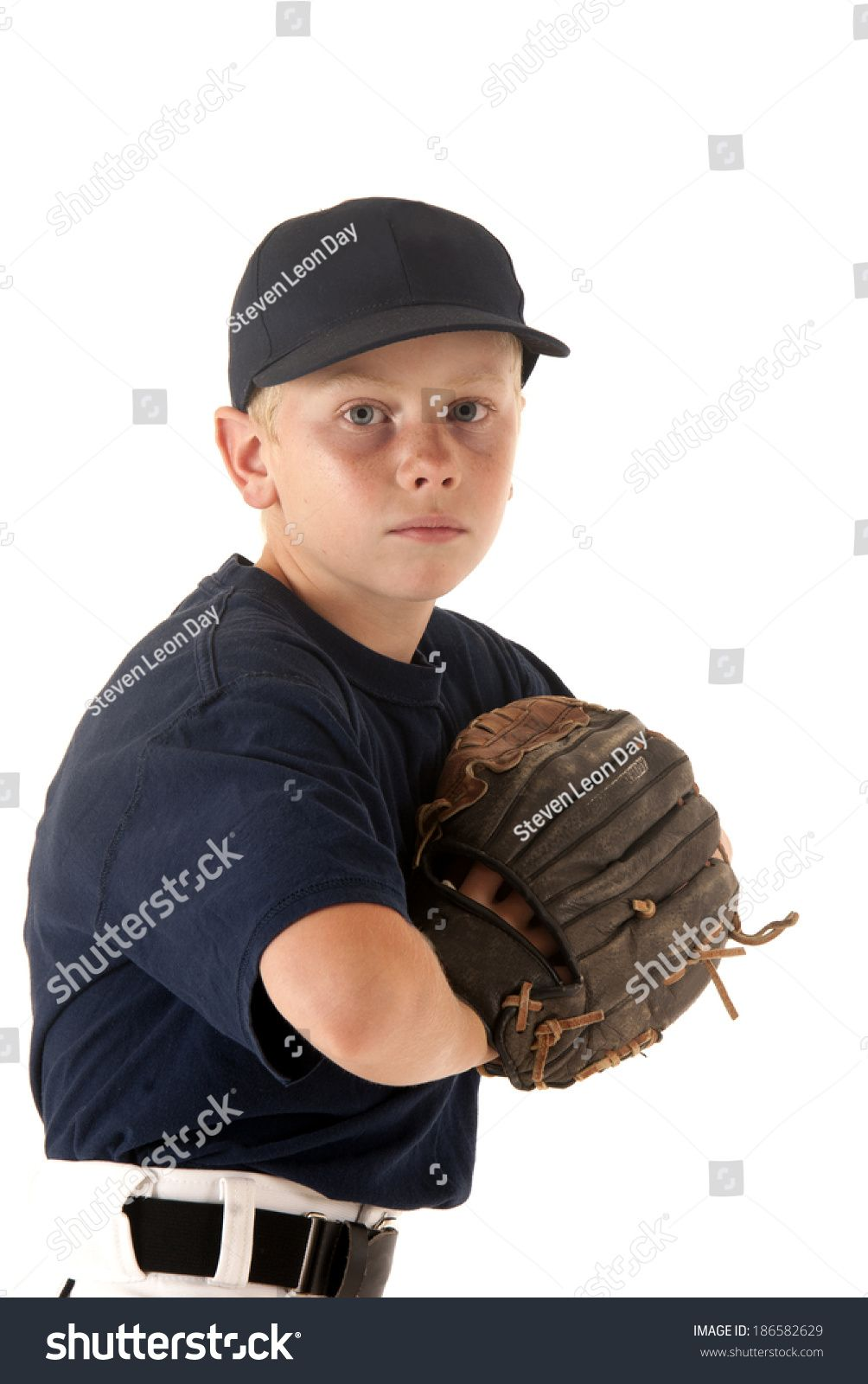 Young Baseball Player With Hand In Glove Ad Ad Baseball Young Player Glove In 2020 Baseball Players Players Mockup Design