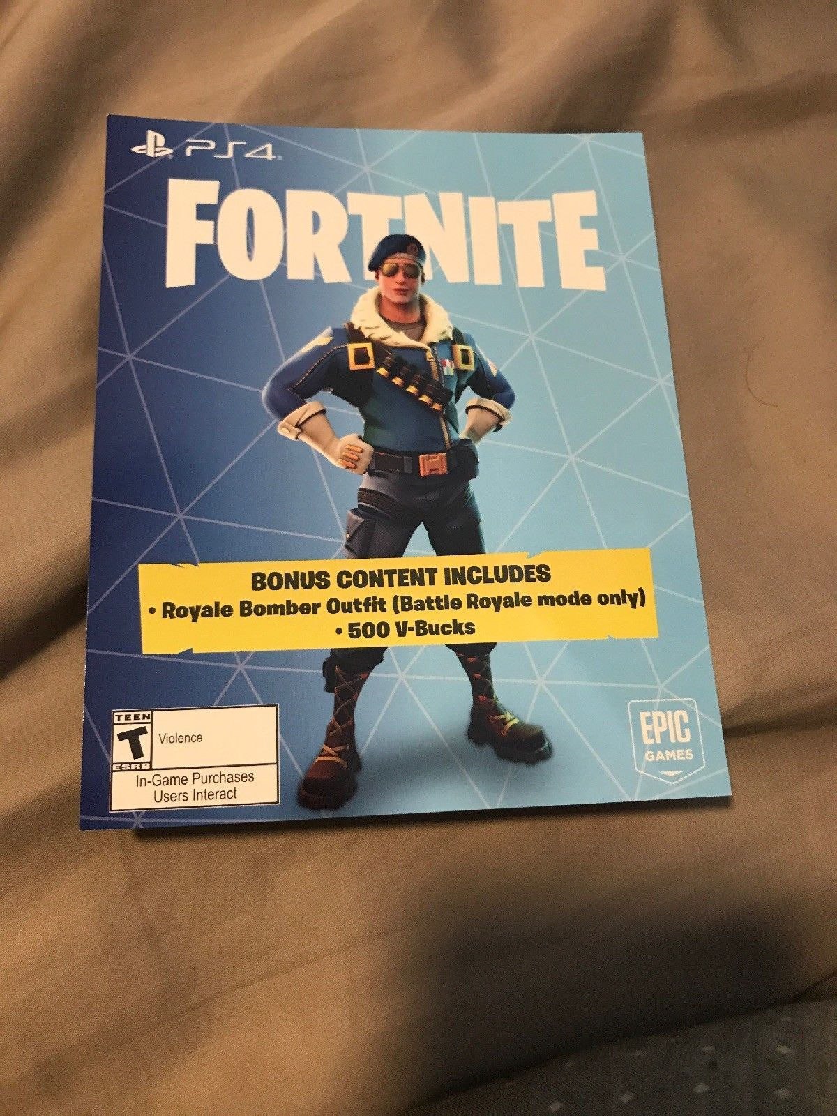 Fortnite Eon Cosmetic Skin 500 V Bucks Xbox One Region Free Fast