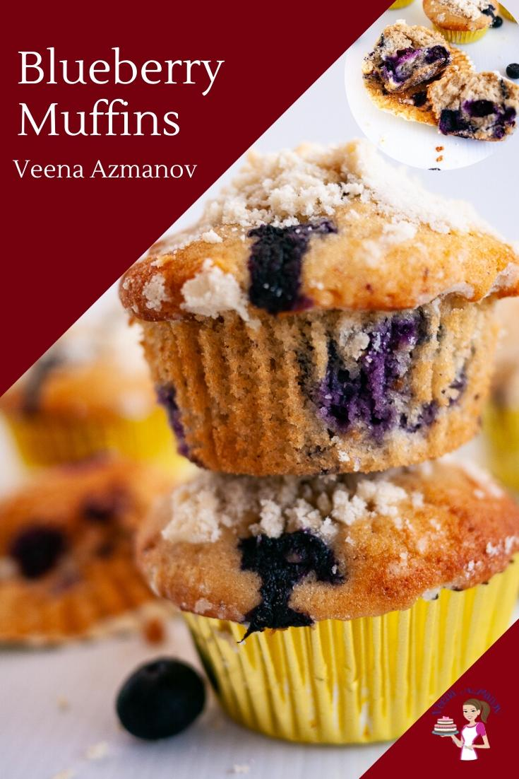 A Good Muffin Recipe Is A Must Have On Hand This Blueberry Muffins Recipe Is My Go To For Ma In 2020 Muffin Recipes Blueberry Simple Muffin Recipe Homemade Sour Cream