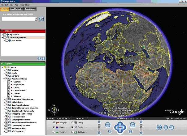 Google Earth is a virtual globe, map and geographical information program that was originally called EarthViewer 3D created by Keyhole, Inc, a Central Inte