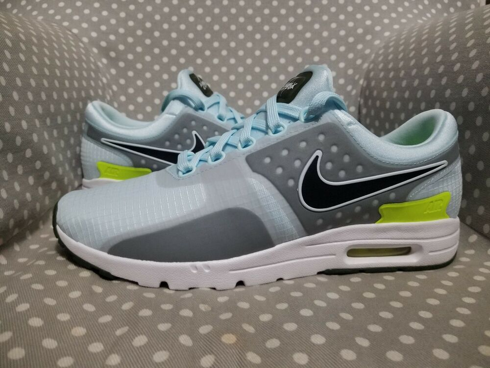 566dbf8a34be Wmns Nike QS AIR Max Zero SI 0 Blue Grey Women Running Shoes Sneakers  881173-400  fashion  clothing  shoes  accessories  womensshoes   athleticshoes (ebay ...