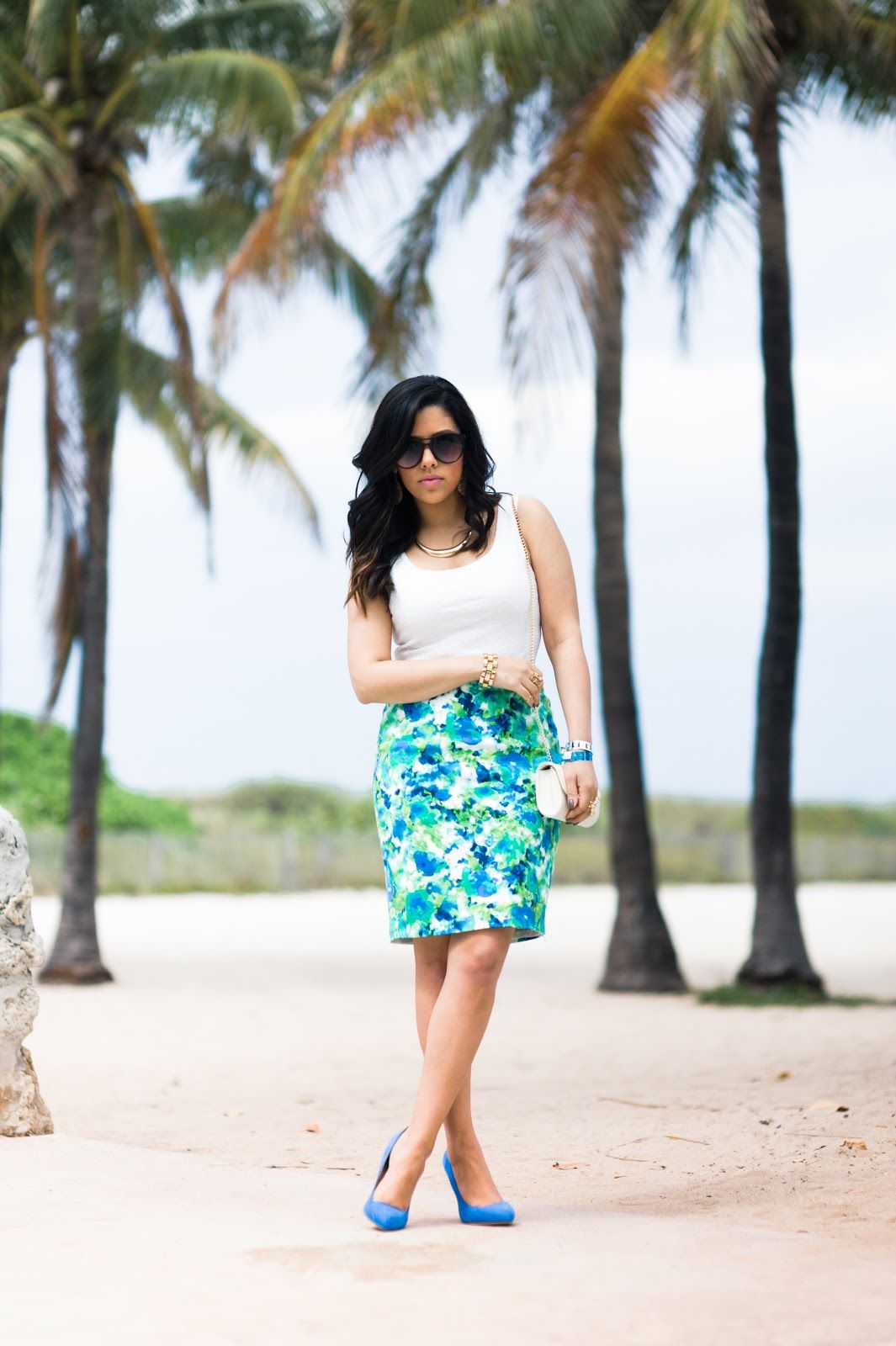 A Love Affair With Fashion : Under The Palm Trees