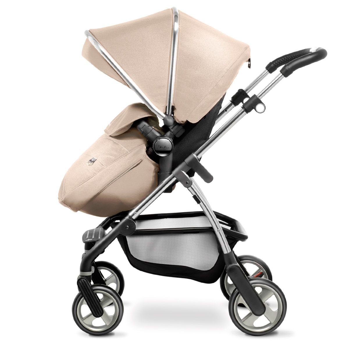 SAND Designs Reversible Seat Liners for Silver Cross Wayfarer Pushchairs