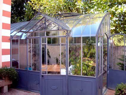 Photogallery Of Greenhouses Manufactured By Serres D Antan Maison Verte Abri De Jardin Et Jardins