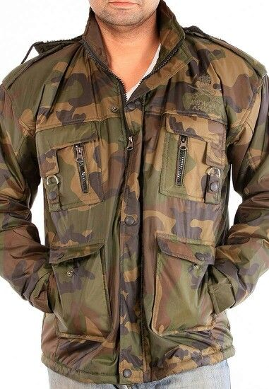 Camouflage military jacket with hood @1749. # Great Deals #sale # cod #freeshipping. To buy visit www.thegstreet.com or whatsapp 9643005488.
