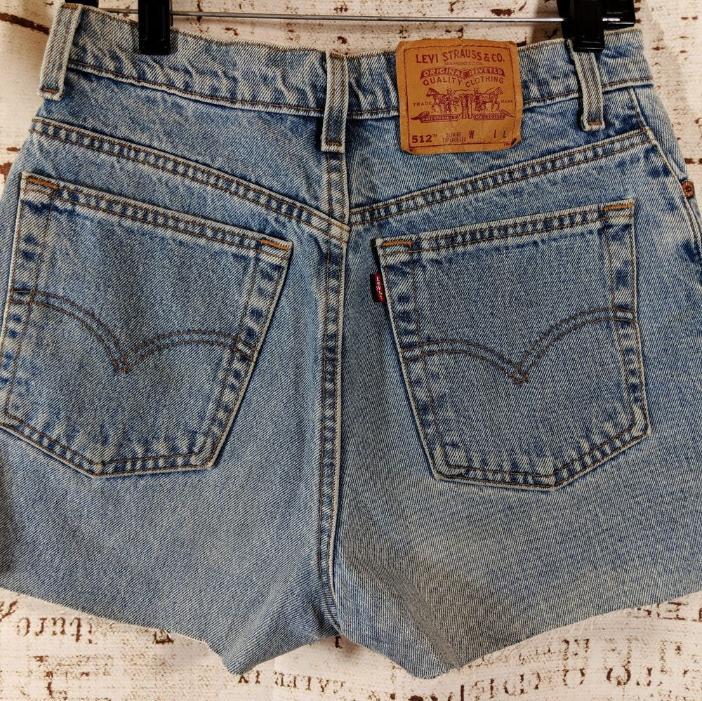 bfd80e3713 Vintage Levis 512 Womens cutoff shorts Slim Fit JR size 11 Booty sexy #Levis  #CutoffJeanshorts