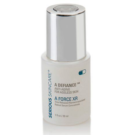 Serious Skincare A Force Xr Retinol Serum Concentrate At Hsn Com Retinol Serum Retinol Skin Care