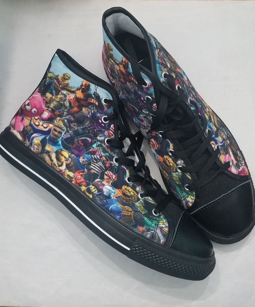 c840d51ffe18 Fortnite Canvas High Tops Men s Size 11 Gear Valor Limited Edition  fashion   clothing  shoes  accessories  unisexclothingshoesaccs  unisexadultshoes  (ebay ...
