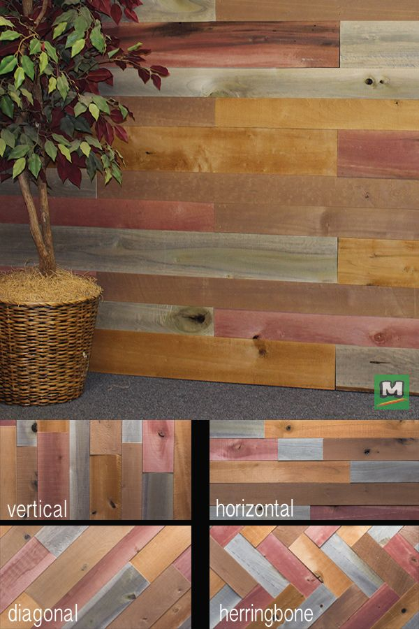 Create A Designer Look On A Dime With River Wood Wall