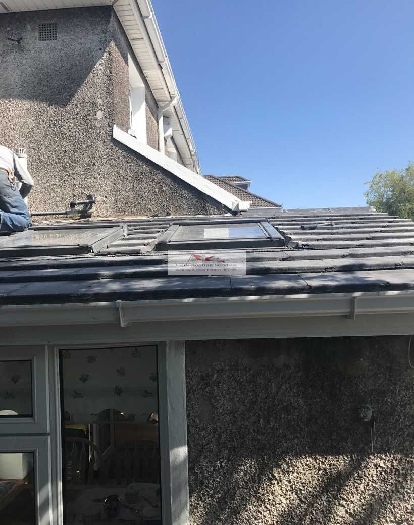 After Roofing Extension Repairs In Cork Roof Repair Roofing Roof Extension