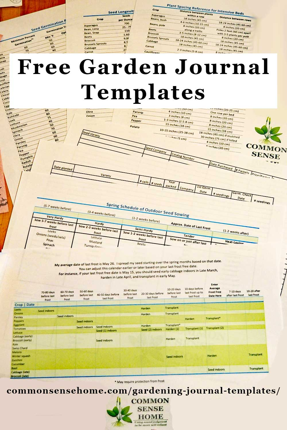 Free Gardening Journal Templates And Other Garden Record Keeping Tips In 2020 Garden Journal Template Garden Journal Journal Template
