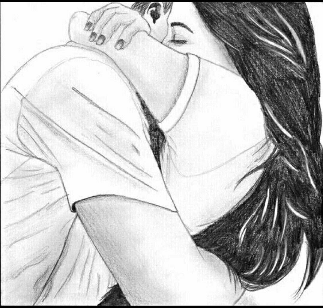 Bipin Bhanvar Dessin De Couple Dessin Amoureux Dessin Love