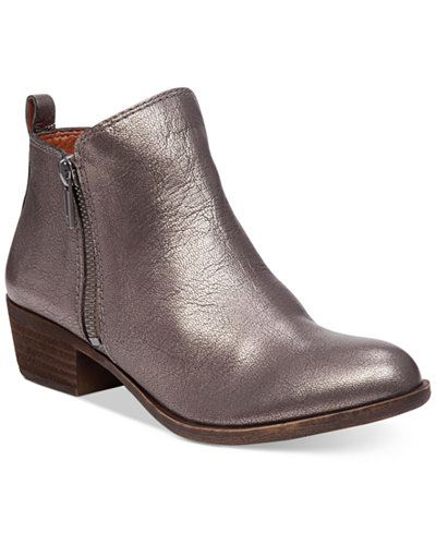 4c8df9db3f76 Lucky Brand Women's Basel Booties | Styling | Shoe boots, Best shoes ...