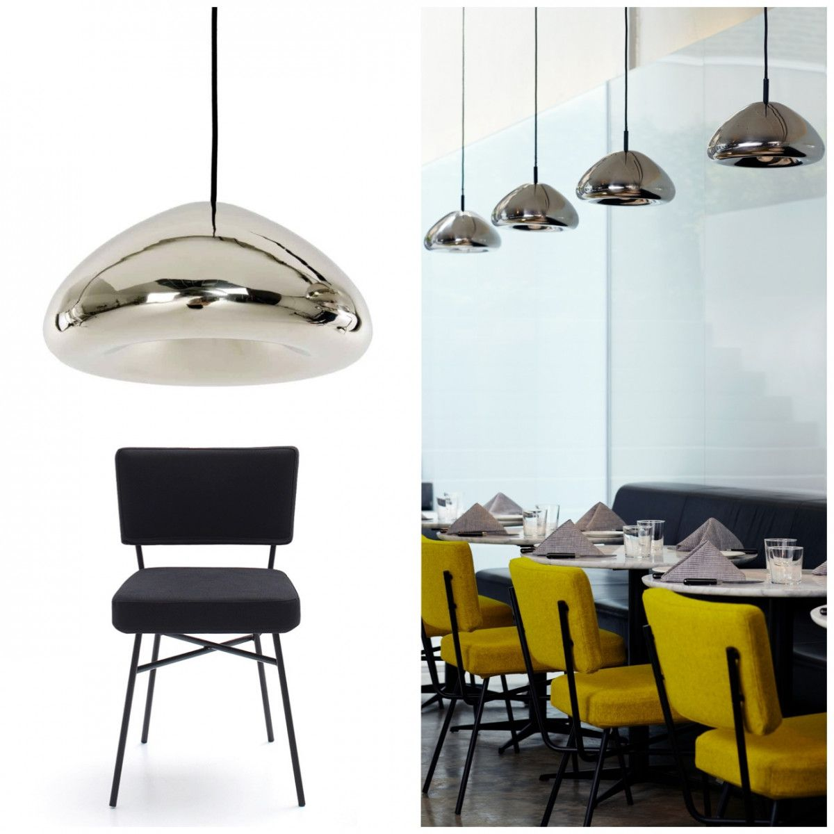 Tom Dixon Void Pendant Light In Chrome Or Copper Golights Com Au House Furniture Design Pendant Light Chrome Pendant Lighting