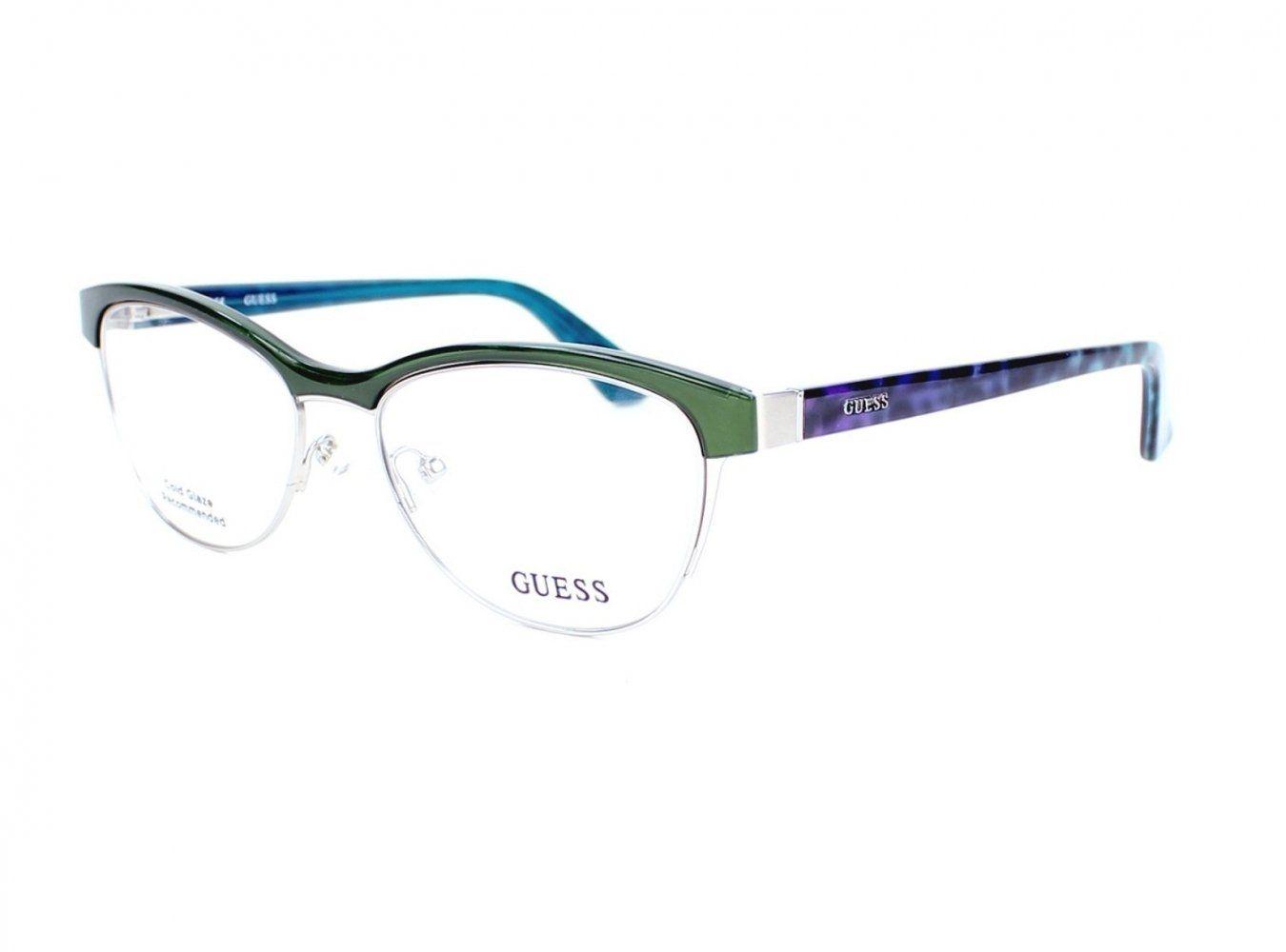 44287a2872881 Optical frame Guess Plastic Green - Blue (GU2523 098). Female style. Frame