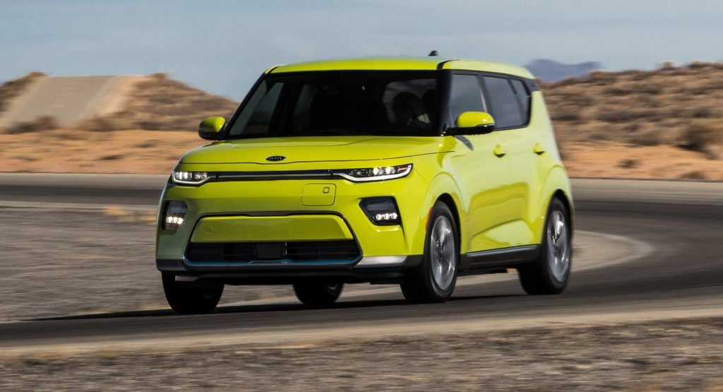 2020 Kia Soul Ev Gets 243 Mile Range Rating From Epa Carscoops Kia Soul Kia La Auto Show