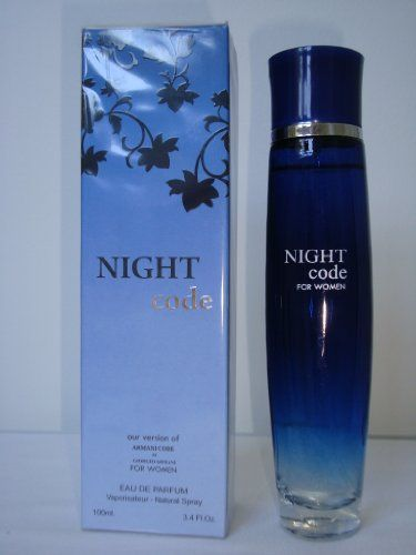 NIGHT CODE-PERFUME FOR WOMEN-3.4 OZ-EDP-VERSION OF