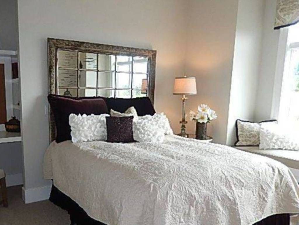 Beds without headboards decorating google search for Bedroom headboard ideas