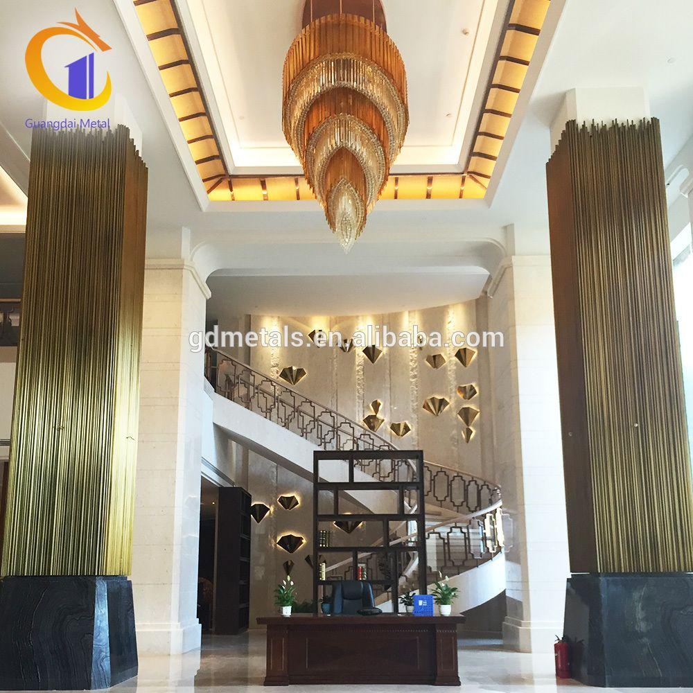 Cheap Precast Indoor Decorative Pillars And Column Cladding Covers Square  Decoration Interior Decorative Columns
