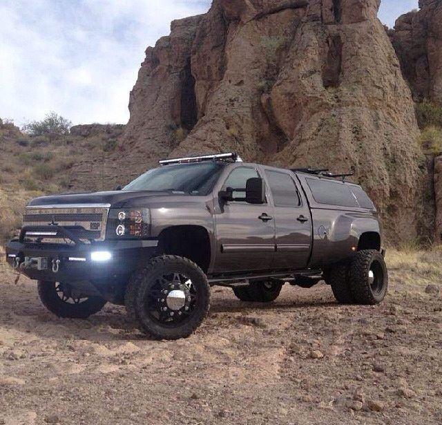 2013 CHEVY SILVERADO 3500 HD DUAL REAR WHEEL  dually truck