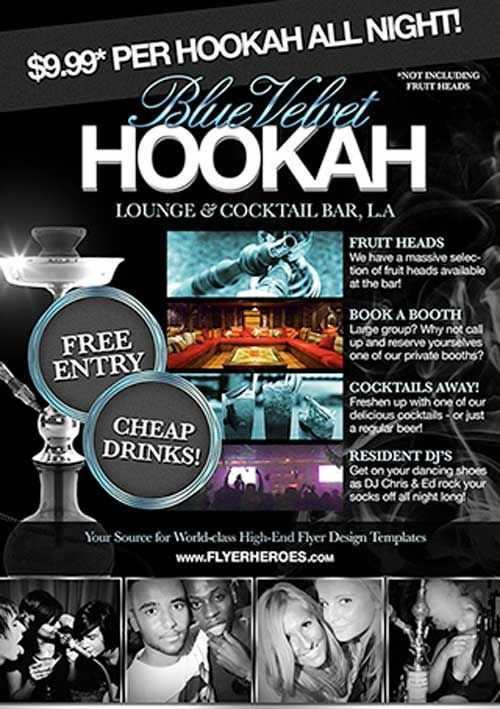 Free Hookah Lounge Flyer Template ffflyerfreehookah – Bar Flyer Template