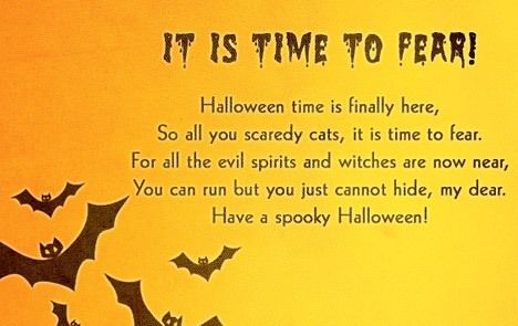 10 line halloween poems for all