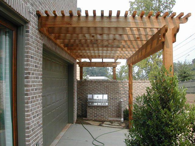 Over The Garage Door And To Meet Up W Front Porch Overhang