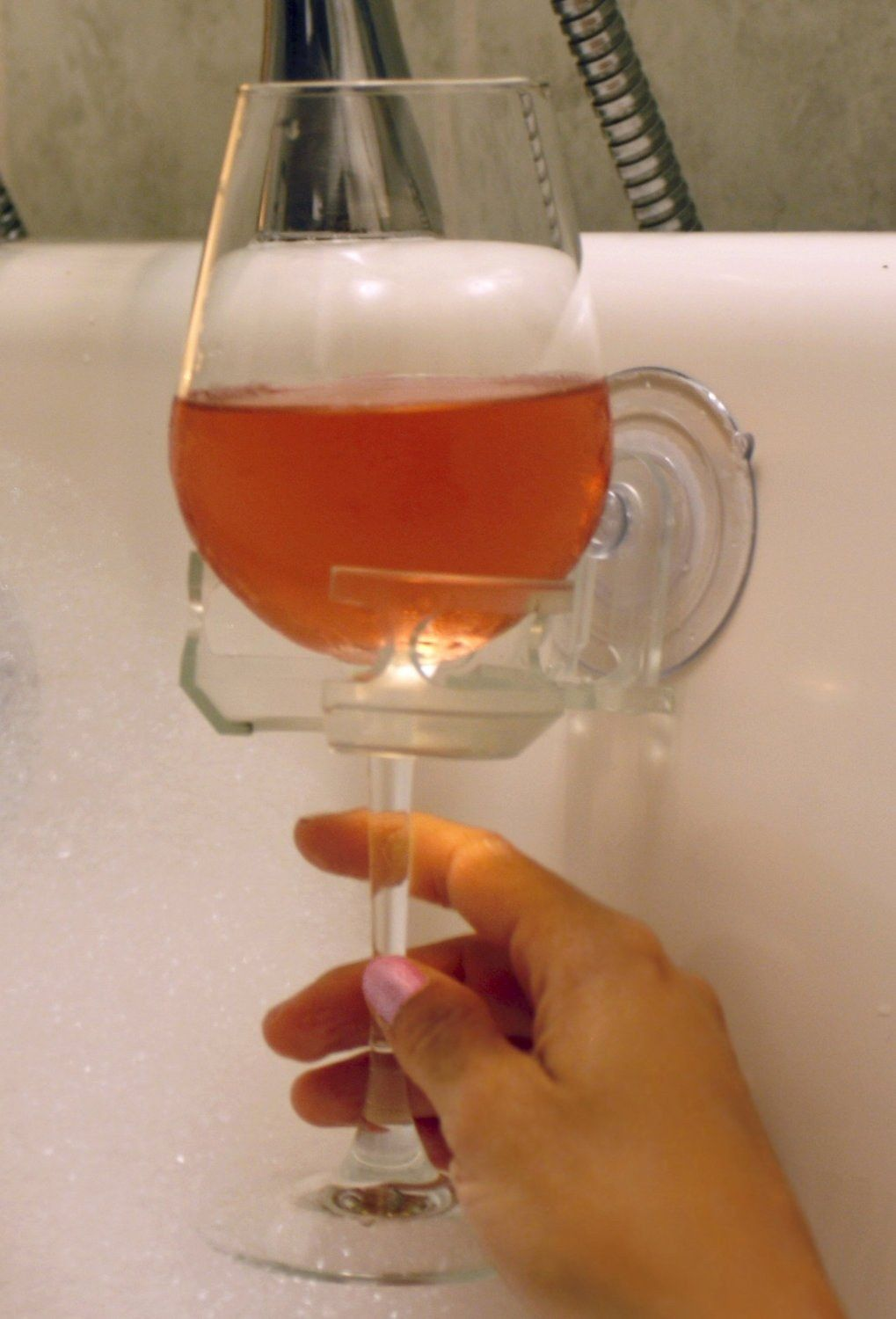 This Fabulous And Functional Bathtub Wine Glass Holder Shower Beer Wine Glass Holder Bathroom Accessories