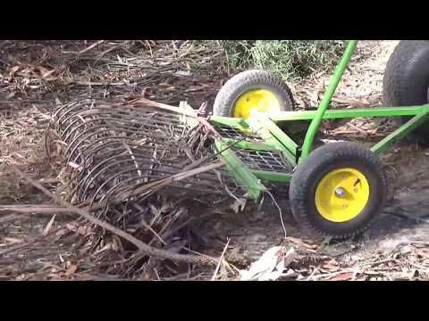 29) Stumpman sales, stick rake, ride on mower stick rake