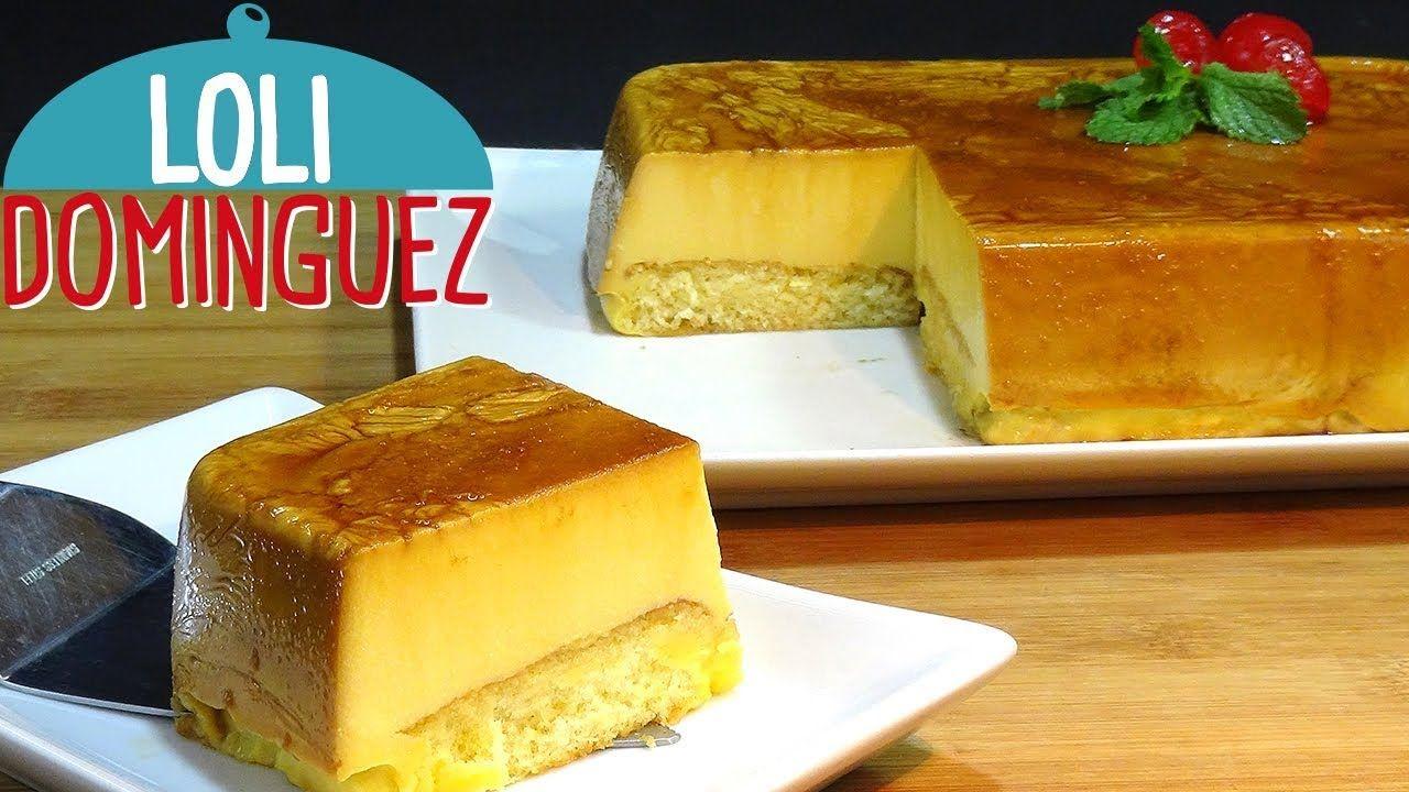 Tarta De Flan Con Queso Y Sobaos Sin Horno Receta Muy Facil