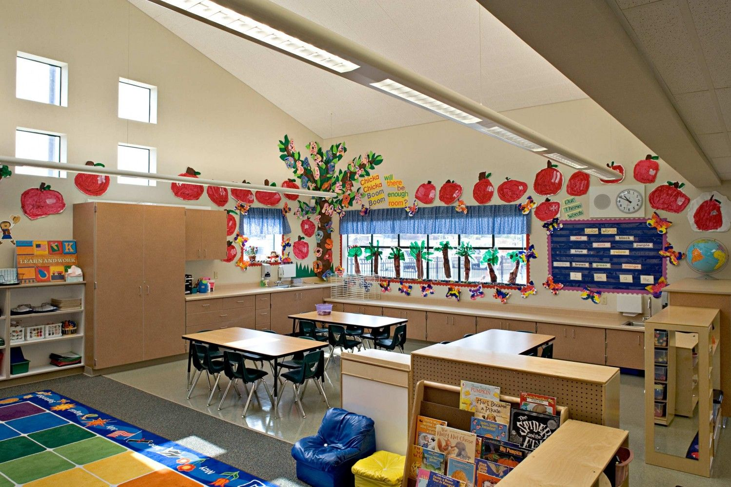 Classroom Wall Decoration Ideas For Primary School : Elementary classroom design barrett ranch