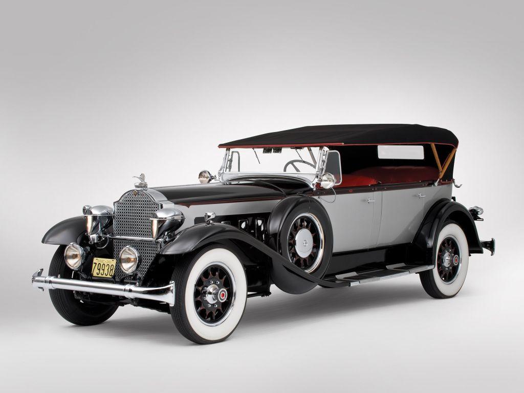 Packard Deluxe Eight Phaeton (745-421) '1930