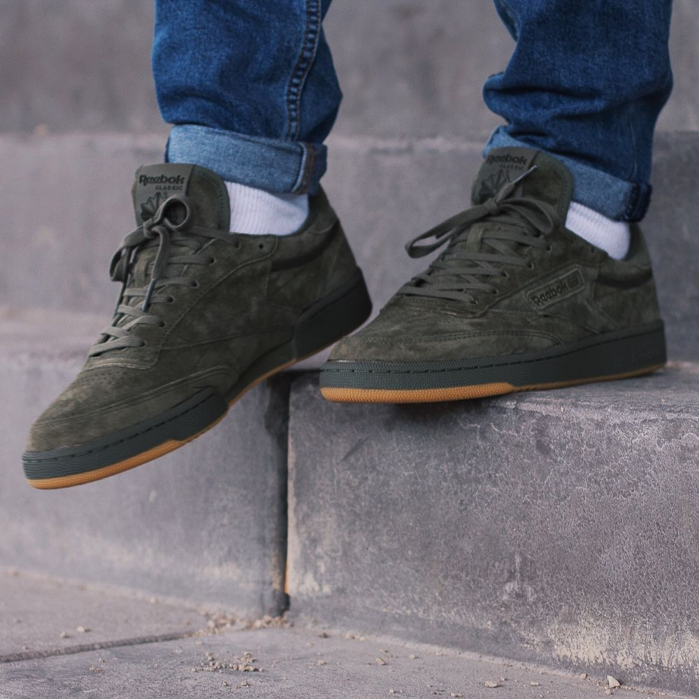 1ac7147ffb9 Reebok Classic - Club C 85 TG Hunter green. Harper Store - Sneakers and  Clothes