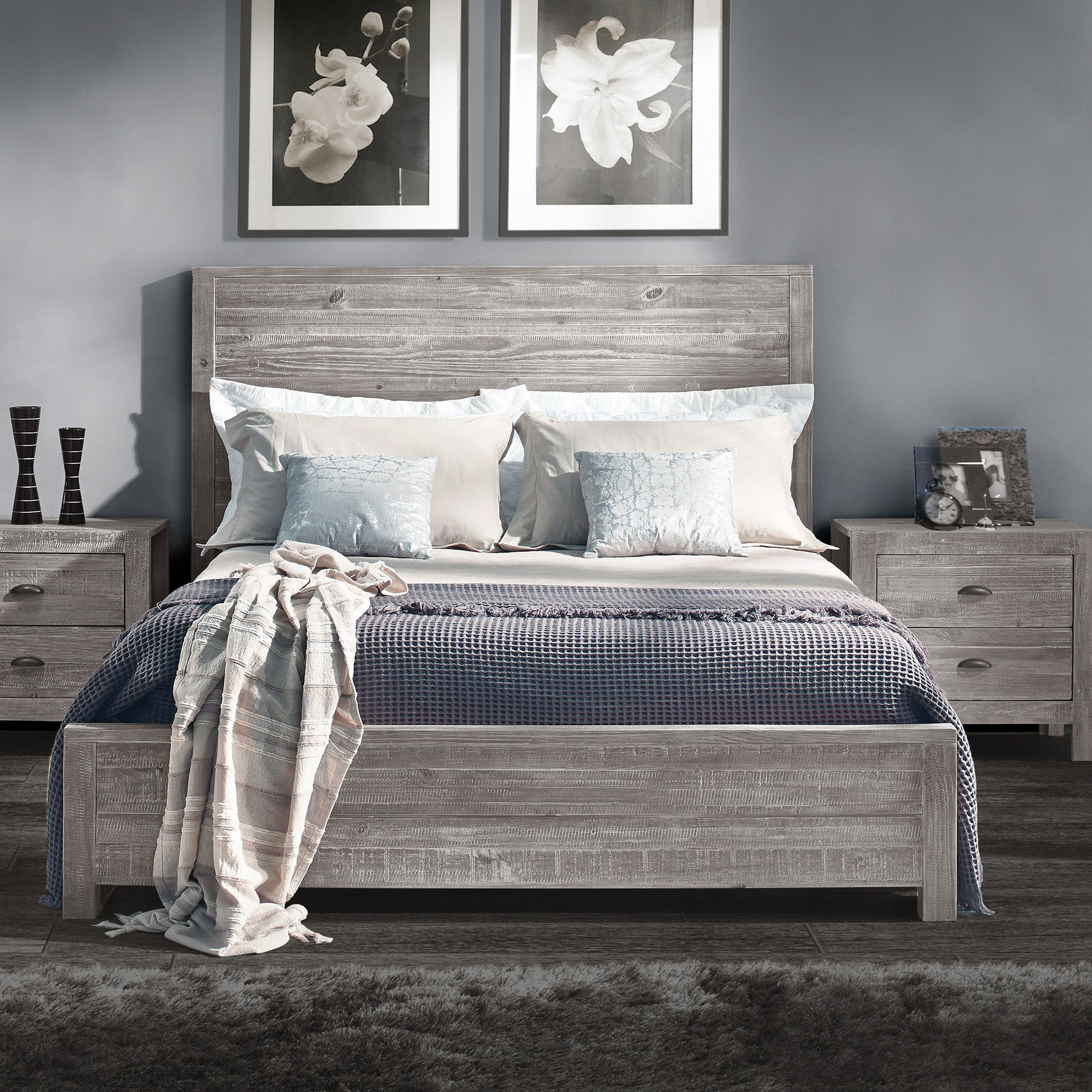 Grain Wood Furniture Jayden Panel Bed | Master bedroom | Pinterest ...