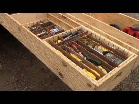 Unique Contractor Truck storage Solutions - YouTube