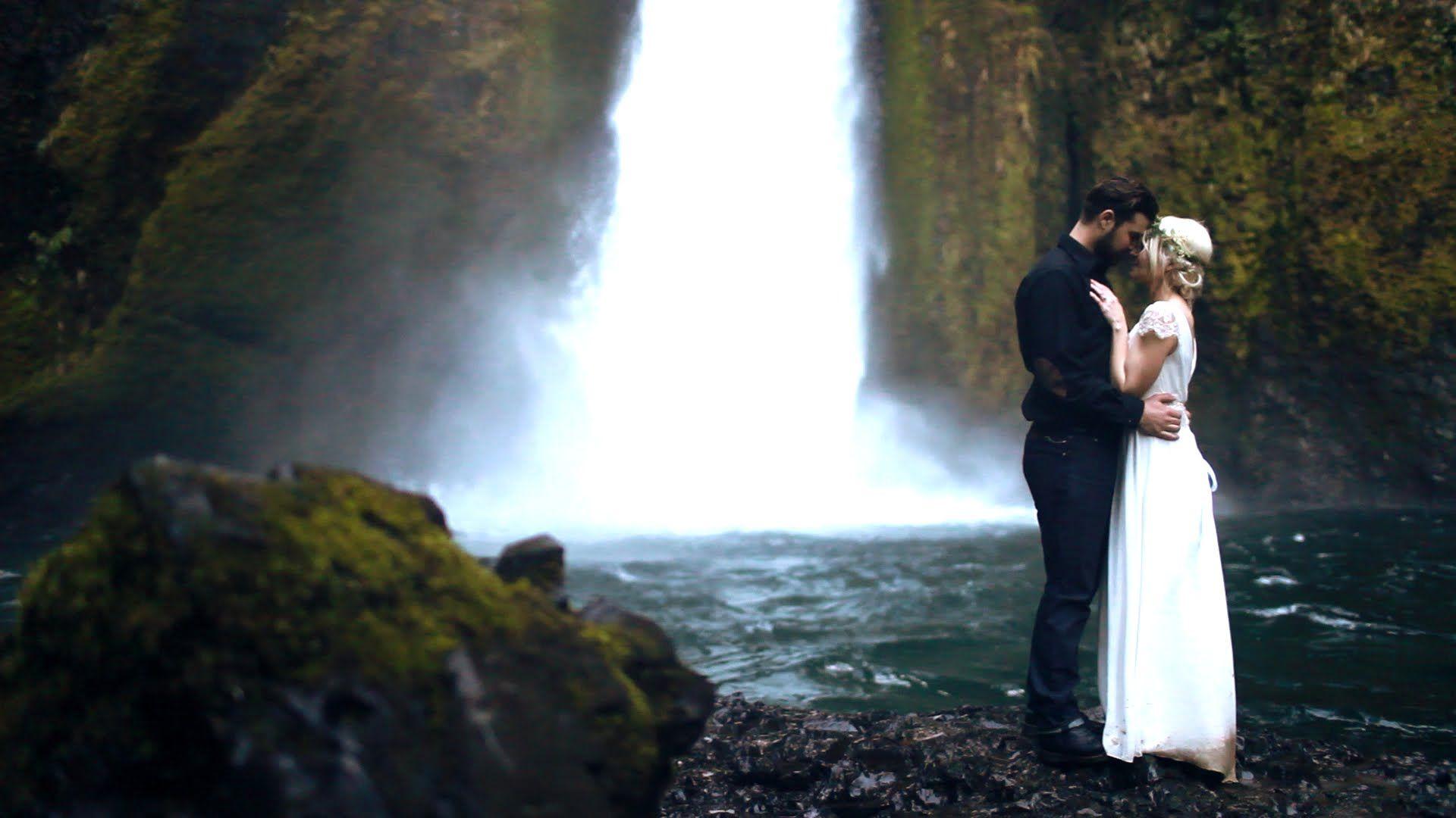Matt & Laura Wedding (With images) Waterfall wedding