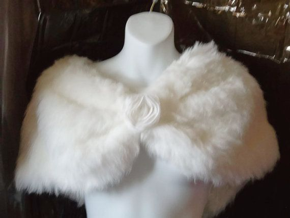 white bridal capegift for bridecapewedding by LovesBride on Etsy, $40.00