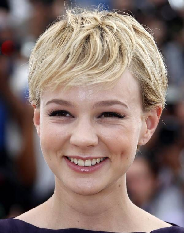 Short Haircuts For Round Face Fame Pinterest Short Haircuts