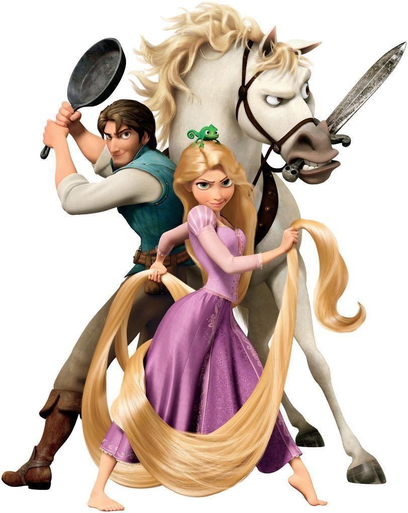 Rapunzel BUY 2 GET 1 FREE  Vinyl Sticker Decal Disney Tangled