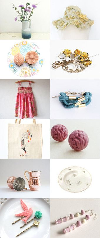 Summer Time by Thévy Guex on Etsy