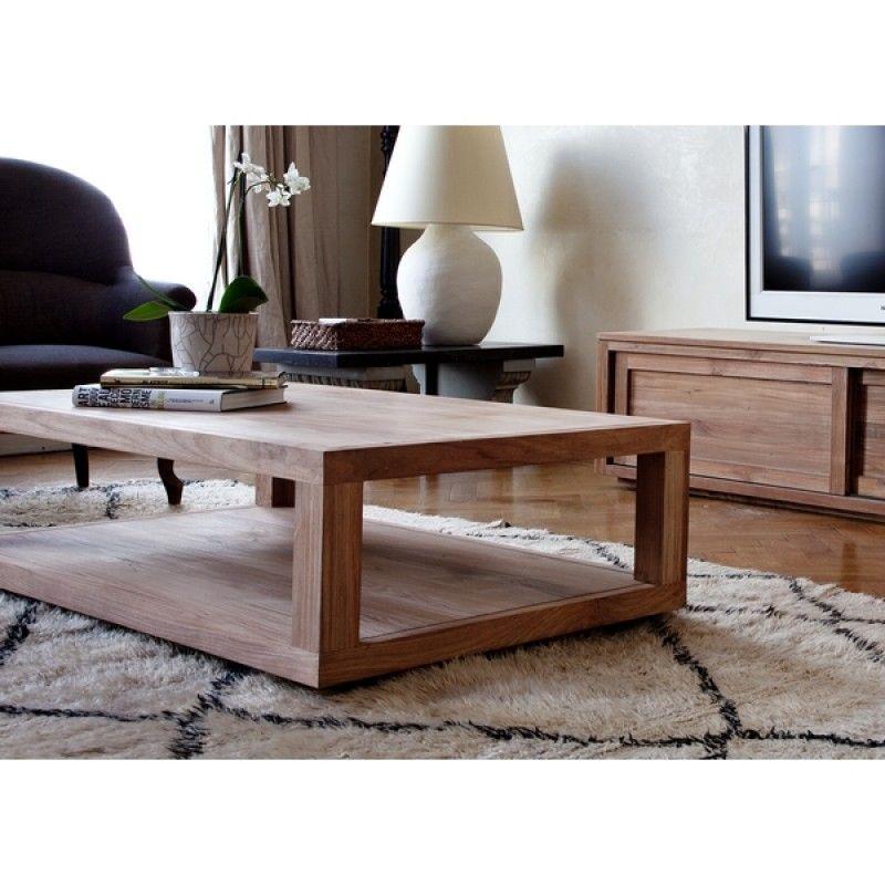 Table Basse Ethnicraft Mise En Scene Furniture Coffee Table Living Room Furniture Online