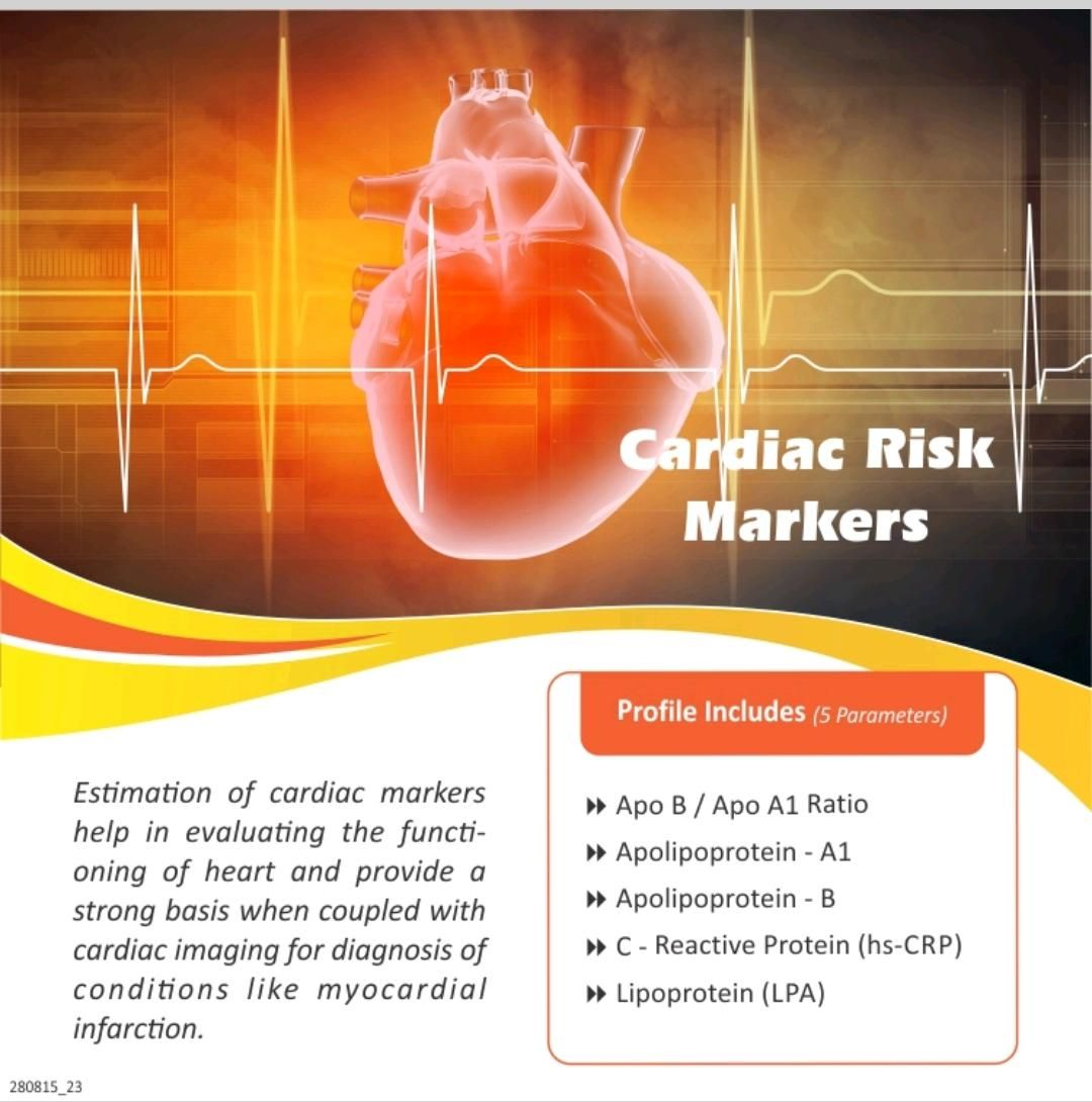 CARDIAC RISK MARKERS At Price Rs 1199.00 https