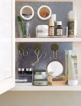 How To Organize Your Beauty Products\u2014And Your Bathroom  Lucky
