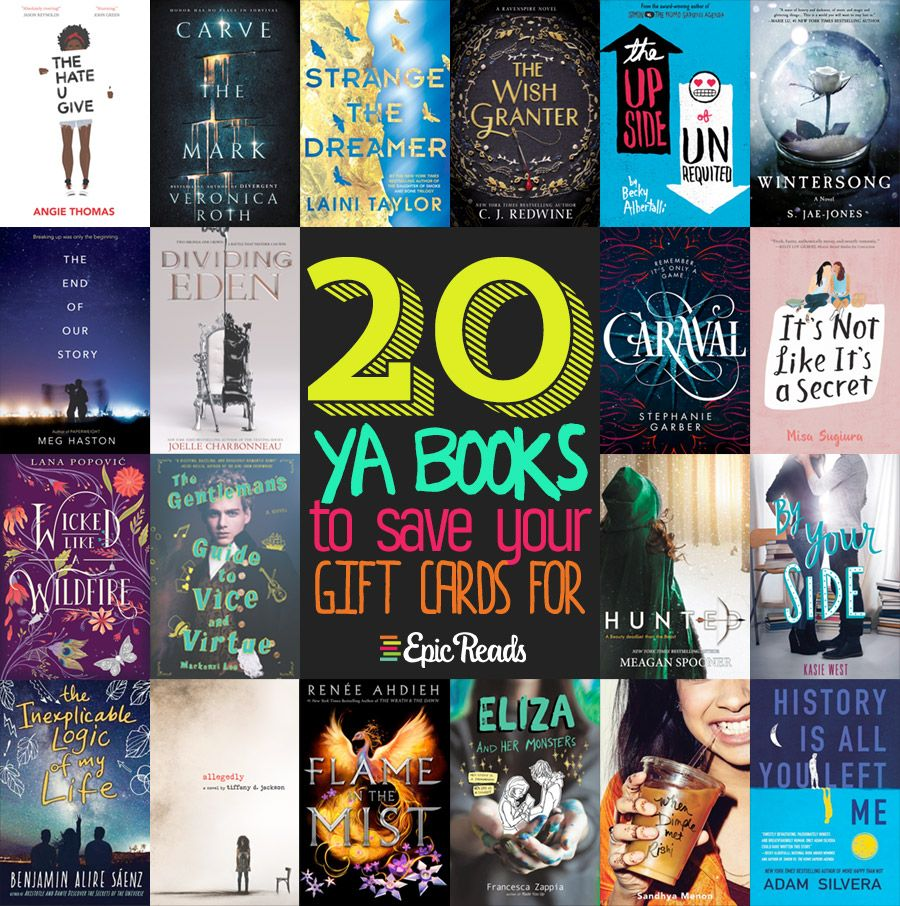 20 Ya Books Worth Saving Your Gift Cards For In 2017 Ya Books Books Books To Read In Your Teens