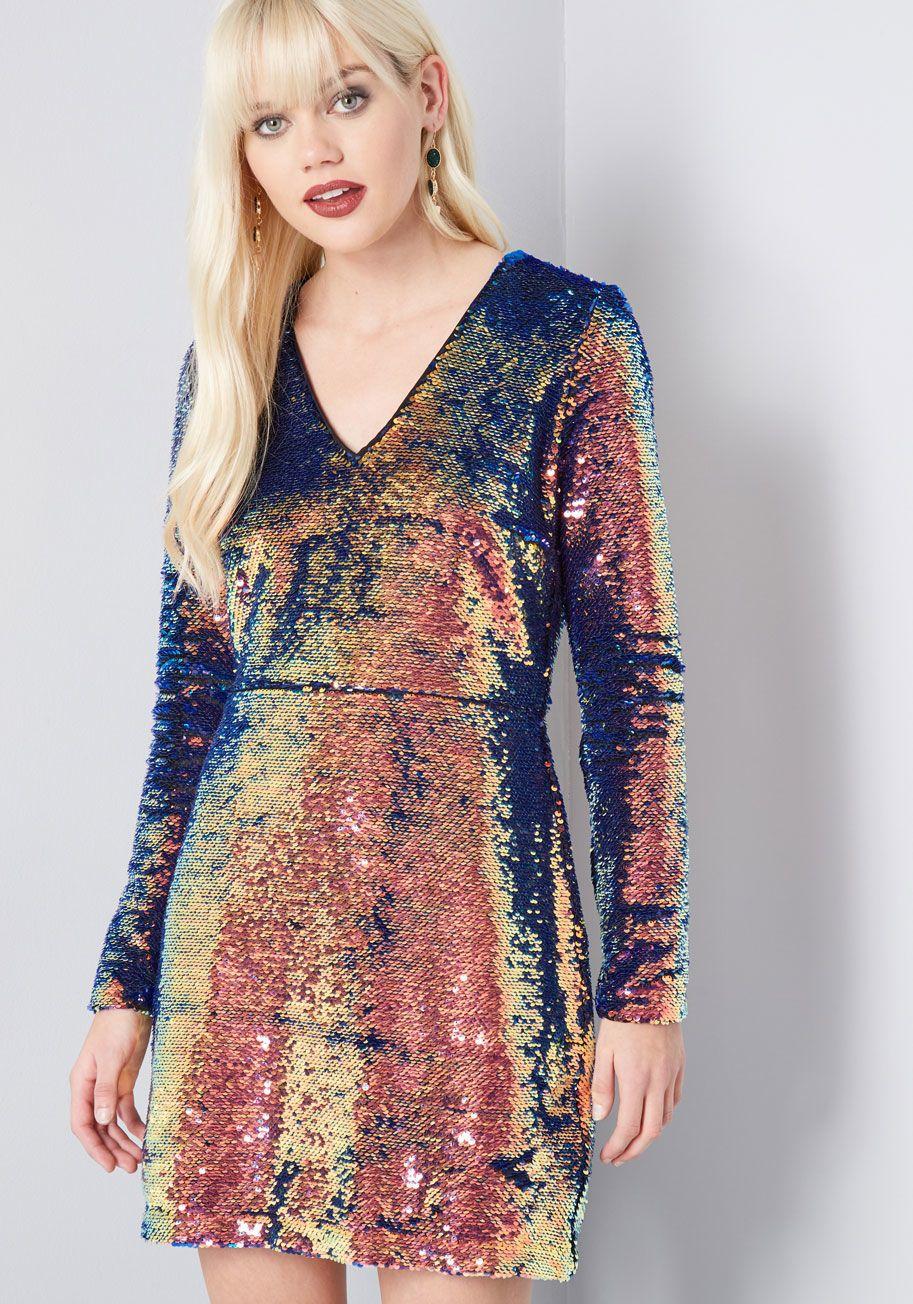b3dd95ce39 Shining Showstopper Sequin Dress in 2018