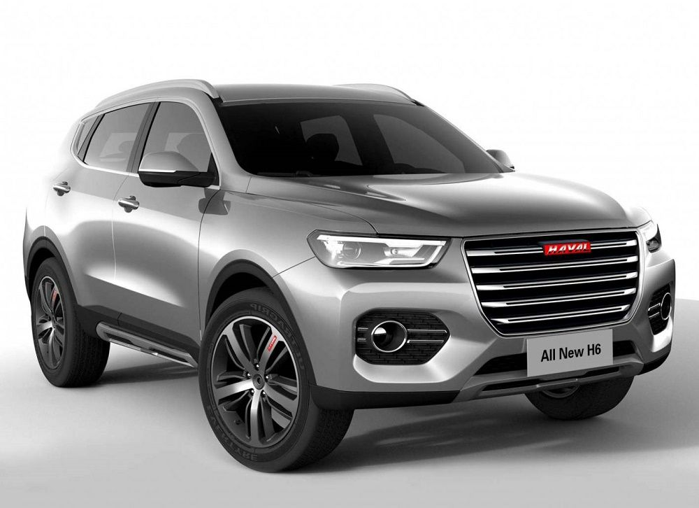 HAVAL unveils allnew H6 SUV in China The new 2018 HAVAL H6 SUV
