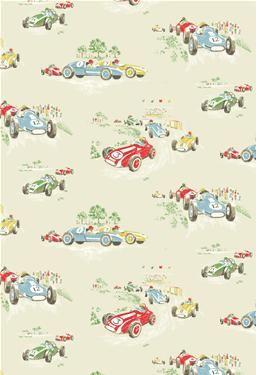 Superieur Vintage Car Wallpaper  Cath Kidston