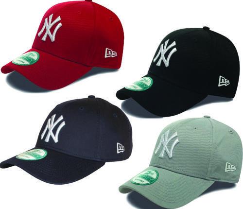 72f65cf8de9002 New Era 9Forty League Basic Baseball Cap. New York Yankees cap, available  in various colours, Scarlett, Black, Grey, Navy , White, Royal Blue, Stone,  ...