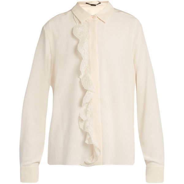 Prices For Sale Sale Discount Stella McCartney ruffled neck shirt Pay With Visa For Sale sN0fixlNU